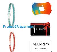 Logo Con Tena richiedi i tuoi premi: bracciali OPS!,buoni Sephora, iTunes, Mango e vinci buoni spesa e fornitur