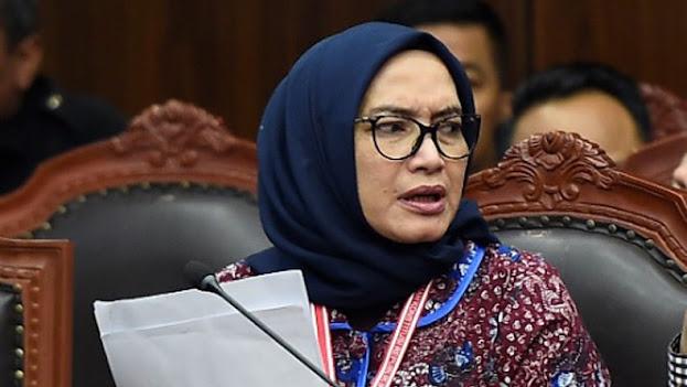 PTUN Batalkan Keputusan Jokowi Pecat Komisioner Evi dari KPU