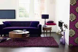 warna cat ruang tamu 2 warna rumah sederhana