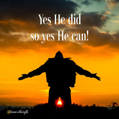 Yes He did so Yes He can!