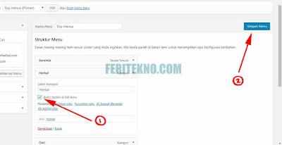 Cara Membuat Link di Klik Menjadi New Tab Pada WordPress 4
