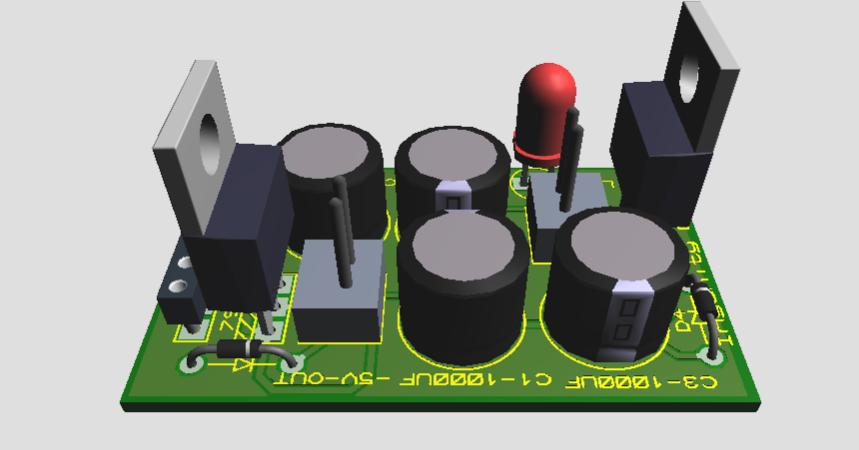 Short Circuit Led For 33 5v Psu