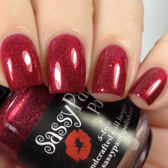 Sassy Pants Polish-Blood Red Moon