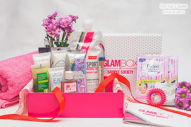 лимитка GlamBox GlamFit Box: фитнес-бокс - отзывы