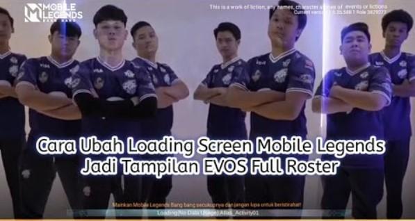 EVOS Loading Screen Full Roster