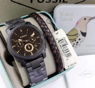 recommendations Fossil watch black face