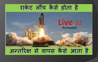 rocket kaise launch hota hai