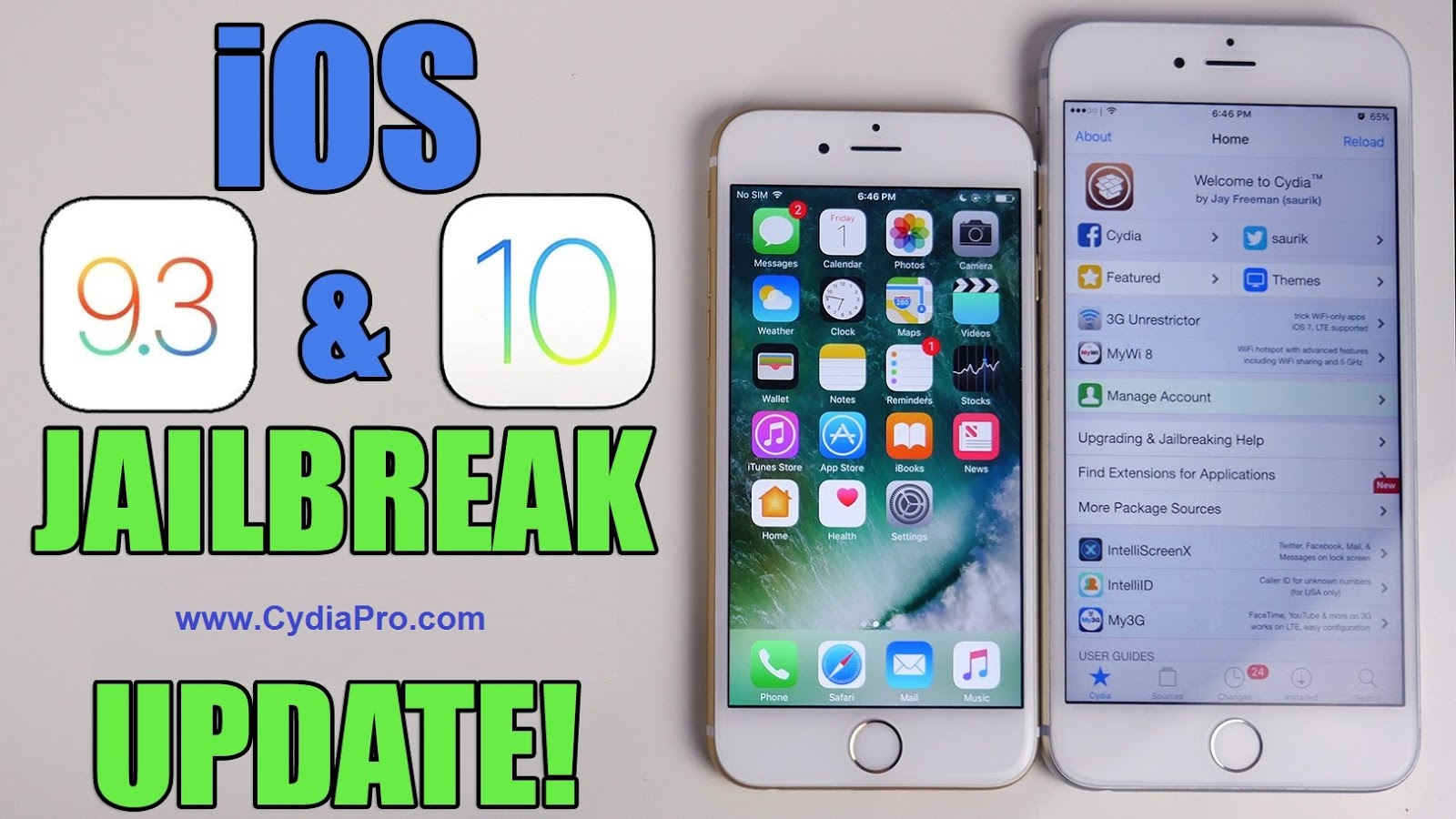iOS 9 3 4 - iOS 10 0 1 Cydia Download for iPhone / iPad | Quick