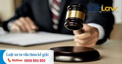 Dịch vụ tư vấn pháp luật về thừa kế