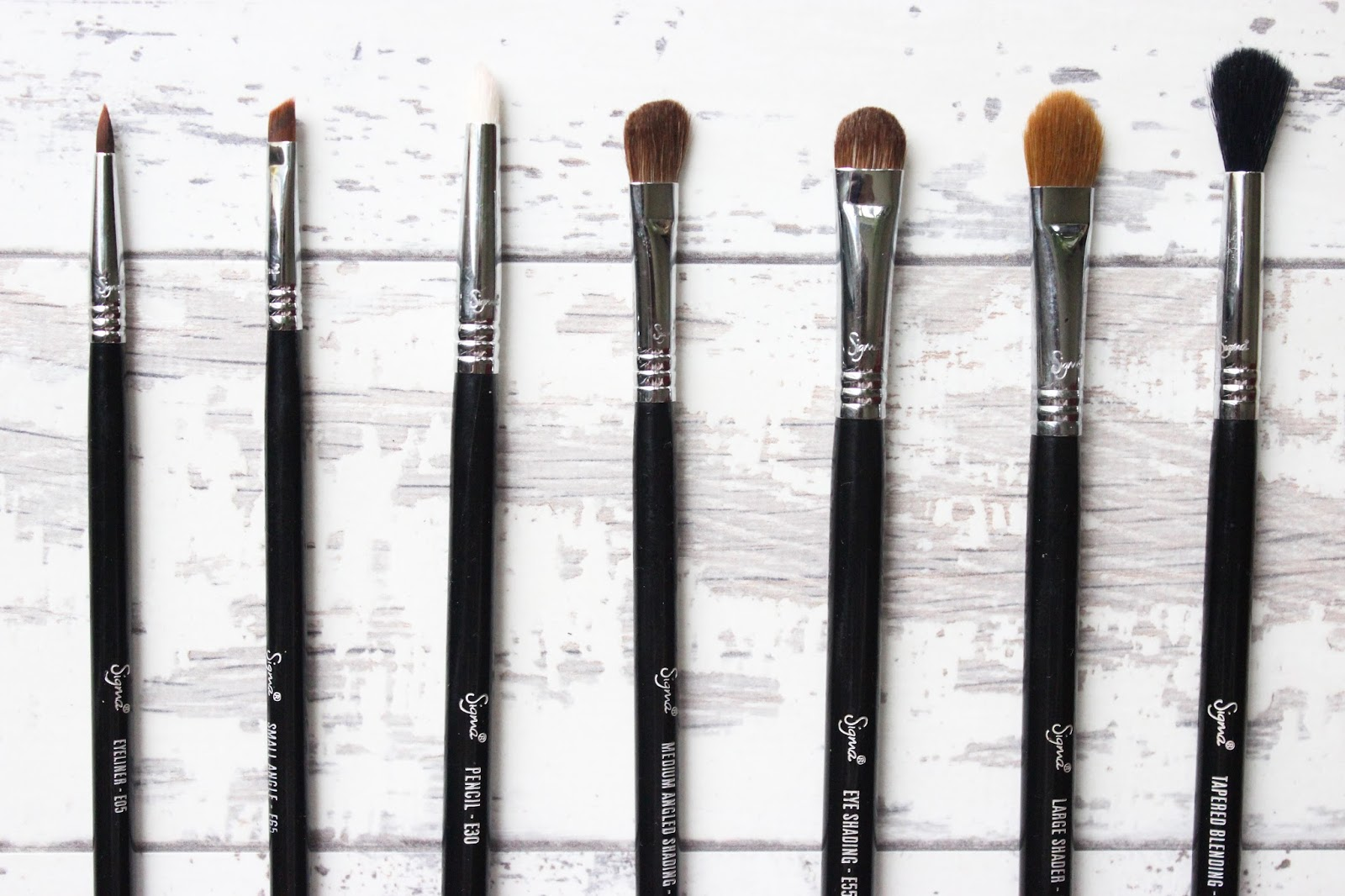Sigma Brushes Sigma Beauty Basic Eyes Kit Review