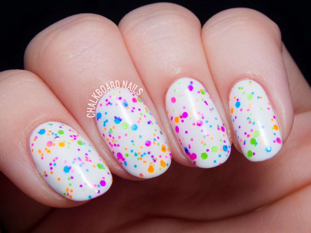 China Glaze Point Me to the Party via @chalkboardnails