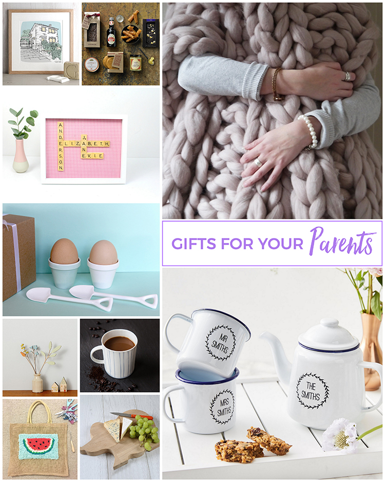 Gifts for your Parents