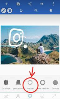 cara membuat efek glowing di instagram story dengan pixellab
