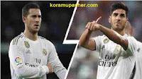 عودة هازارد وأسينسيو من الاصابة ترجح كفة ريال مدريد في الليجا