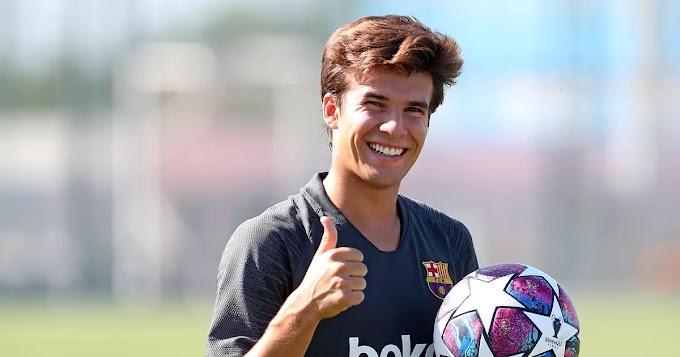 De la Fuente explains Riqui Puig omission from Spain U21 squad
