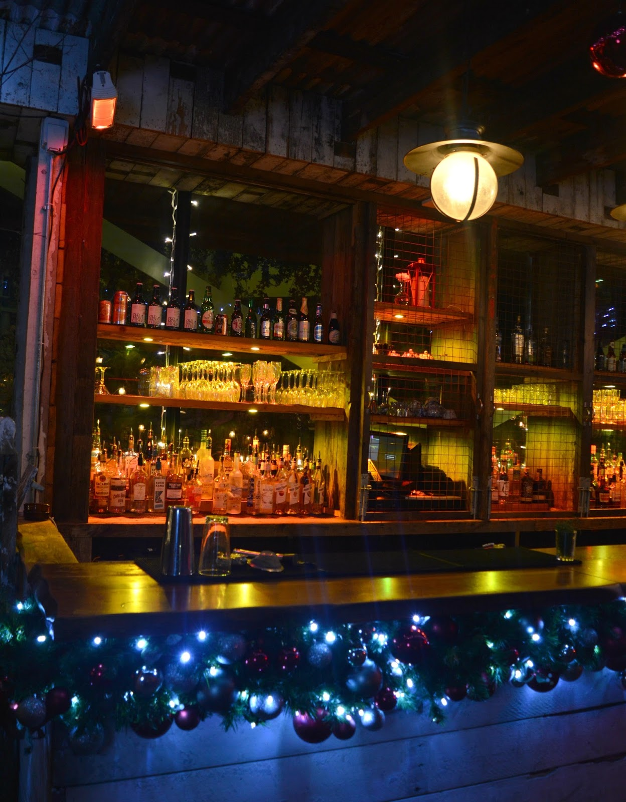 Christmas at the Botanist Newcastle - Roof Winter Wonderland