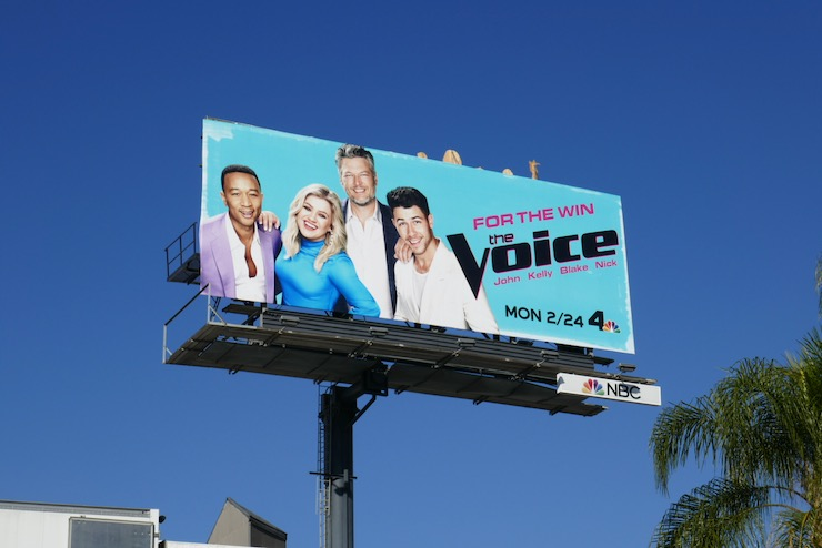 Voice season 18 billboard