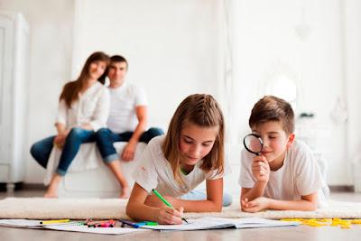 Jak zorganizować sobie czas z dziećmi w domu?