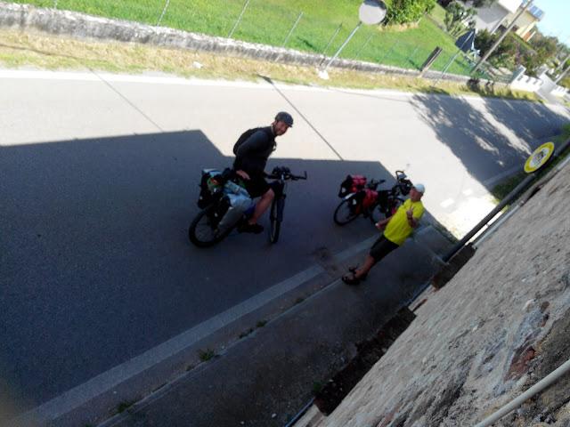 Cicloturisti della Monaco Venezia 2020