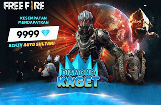 Event Diamond Kaget Free Fire, Dapatkan Jackpot 39999 Diamond dengan cara Spin