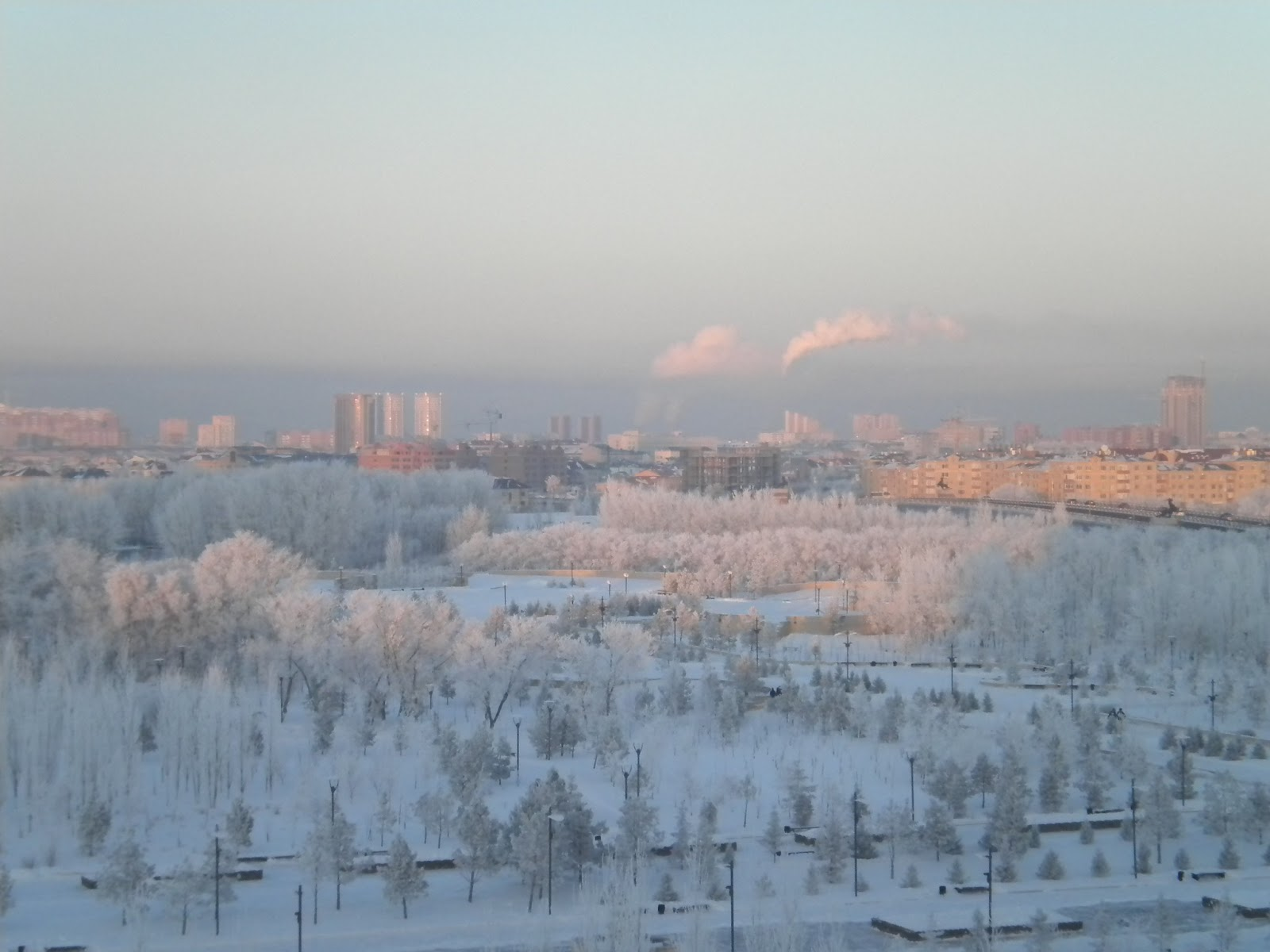 Astana winter