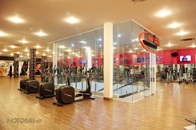 Các gói khuyến mãi tại club 24h Fitness & Yoga