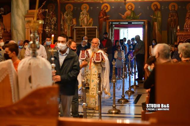 Εορταστική Θεία Λειτουργία για τους Αγίους της Κίου της Μικράς Ασίας (βίντεο)