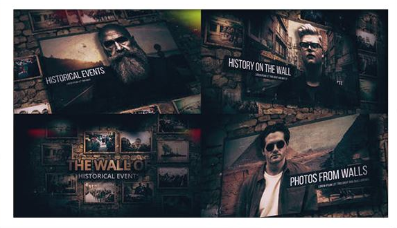Projects – VideoHive – History On The Walls – 26562958 [AEP]