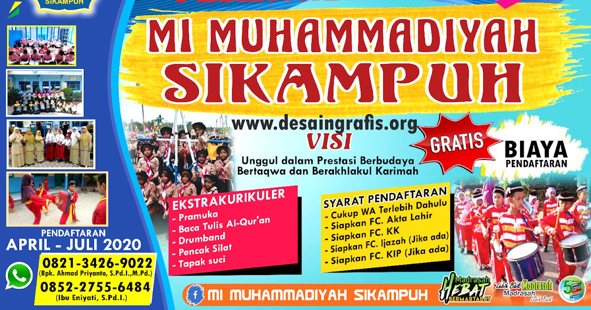 Order Banner Selamat Datang PPDB 2020/2021 cdr | Kumpulan ...