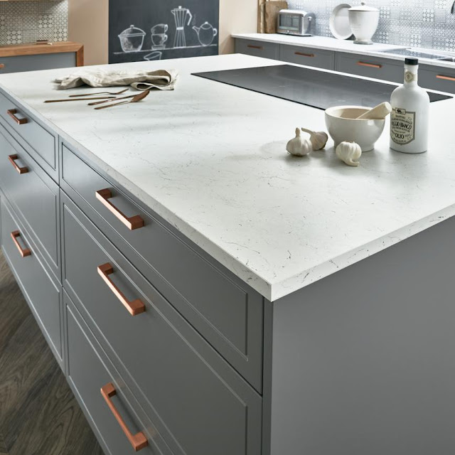 Kitchen design with Howdens - Lewes Kitchen in Slate Grey