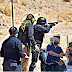 Participan policías y militares en práctica de tiro de combate del ISSPE Sonora