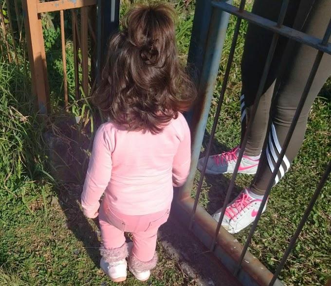 Criança de 2 anos que caminhava sozinha às margens de rodovia é resgatada pela Policia