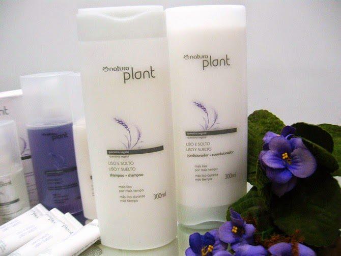 Shampoo e Condicionador Natura Plant Liso e Solto