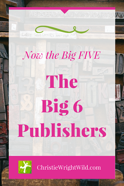 The Big Six Publishers || what are the big 5 publishers? | 2013 publishing merger | what publishing houses will help me be the most successful