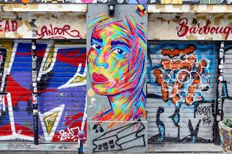Sunday Street Art : Manyoly - rue Dénoyez - Paris 20