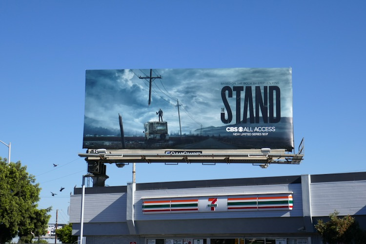 Stand TV series billboard