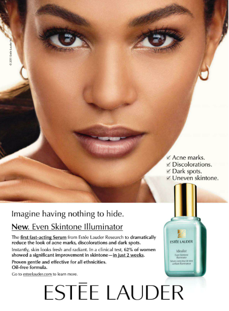 Models of Color: Estée Lauder 2011: Joan & Liu