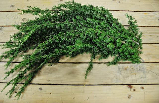 Mountain Hemlock Christmas arrangements