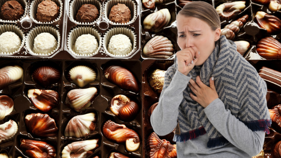 Chocolate can help your sore throat