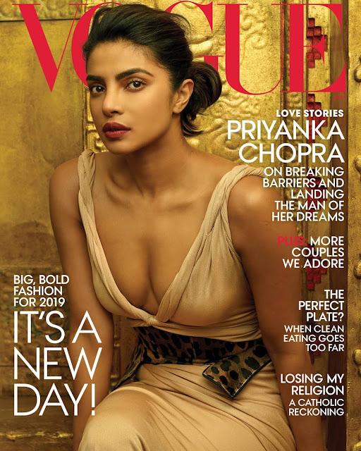 Priyanka Chopra in Vogue 2019