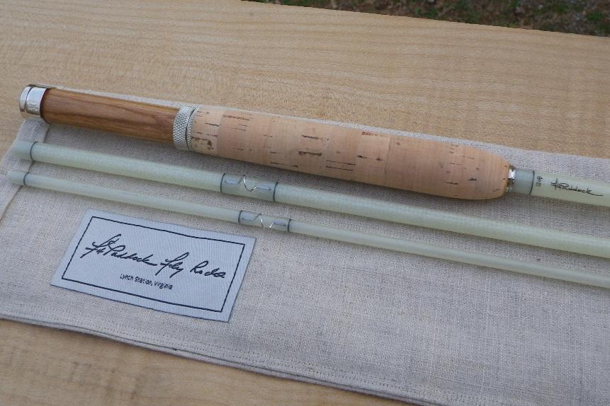 The fiberglass manifesto fh paddock fly rods new for Fiberglass fishing rods