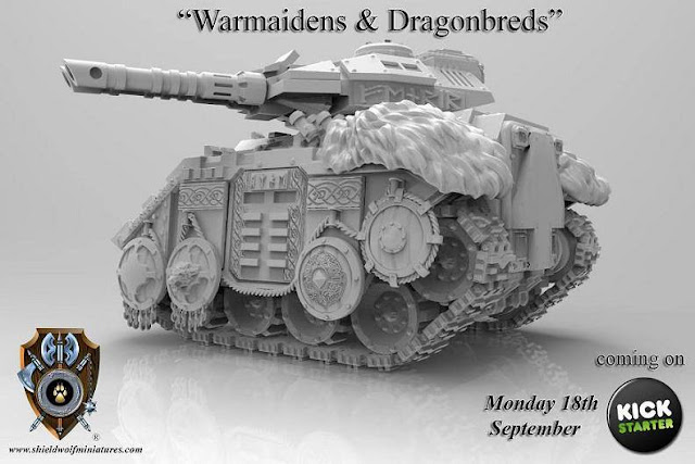 Featured above is the Sisters of Faith - An Armored Personnel Carrier