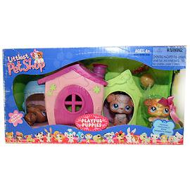 Littlest Pet Shop Small Playset Poodle (#38) Pet