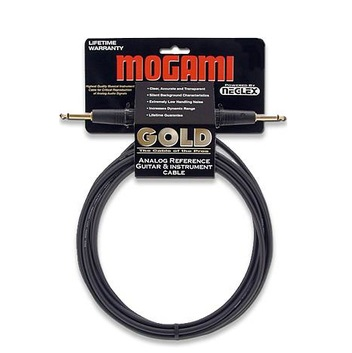 MOGAMI GOLD 10-FOOT INSTRUMENT CABLE