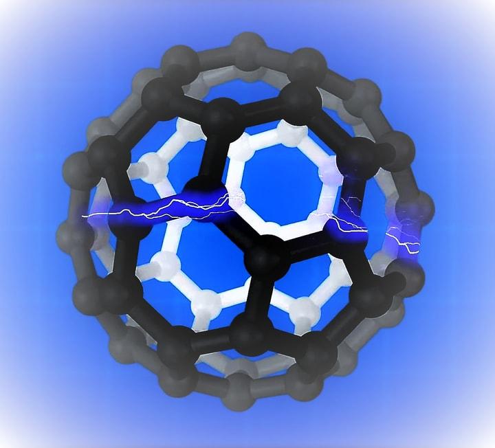 Buckminsterfullerene, buckybola or futbolene, is a spherical fullerene molecule with the empirical formula C60.
