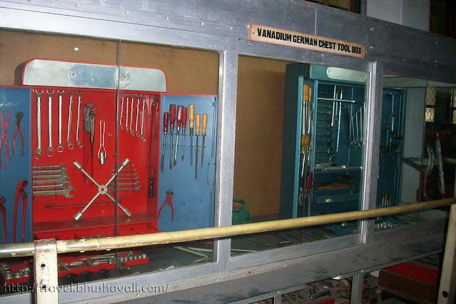 GD Naidu Science Museum Industrial Exhibition Vintage German Tools