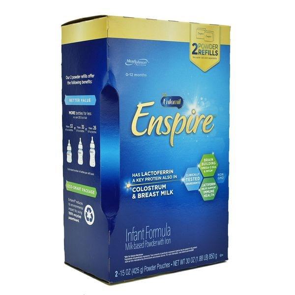Sữa Bột Enfamil Enspire Infant Formula Hộp Giấy Cho Trẻ 0-12 Tháng 850g – Mỹ