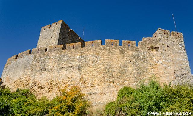 Castillos-de-Portugal, las murallas del castillo