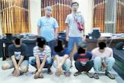 Diduga Seorang Gadis Diperkosa, 5 Pemuda Terpaksa Diamankan Satreskrim Polres Pangkep