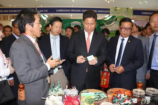 Foire d'Import-Export et d'Une Province, Un Produit  2015